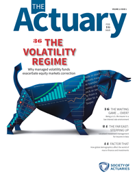 The Actuary Magazine | Feb/Mar 2016