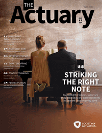 The Actuary Magazine | August/Sept 2017