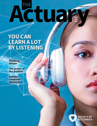 The Actuary Magazine | April/May 2019